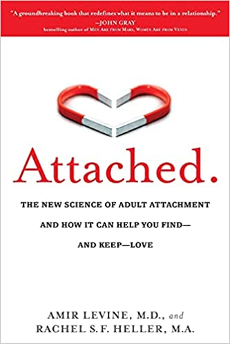 Attached: The New Science of Adult Attachment Book Cover