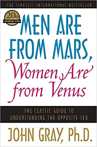 Men Are from Mars, Women Are from Venus Book Cover