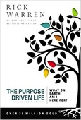 The Purpose Driven Life Book Cover