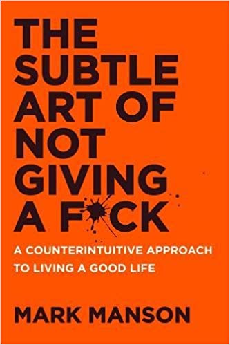 The Subtle Art of Not Giving a F*ck Book Cover