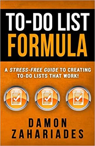 To-Do List Formula Book Cover