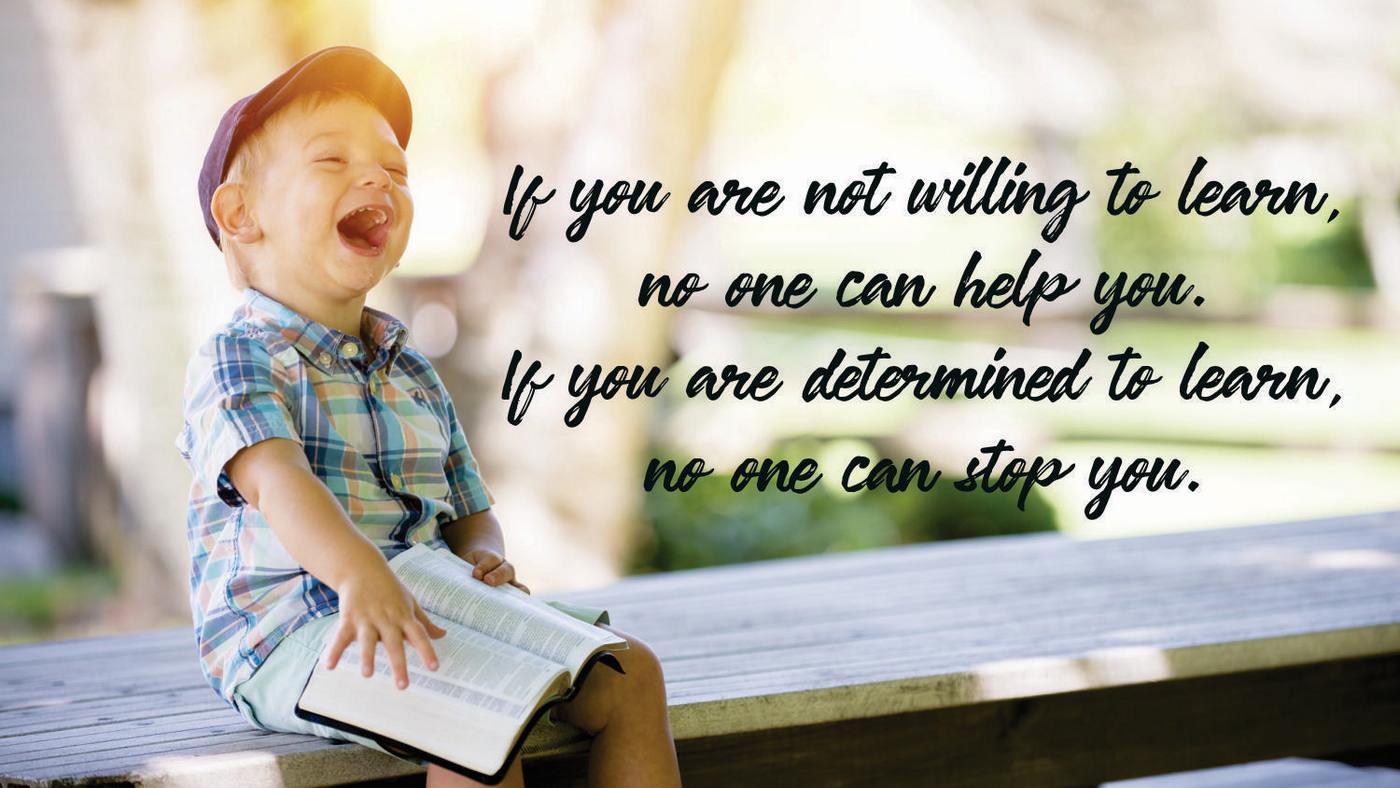 Be a lifelong student
