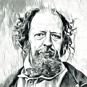 Alfred Lord Tennyson image