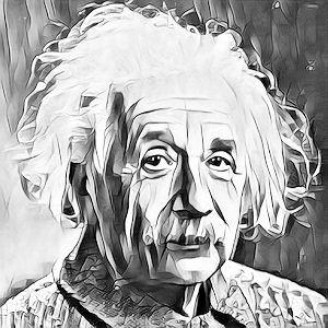 Albert Einstein photo