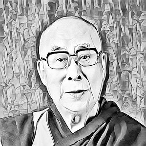 Dalai Lama 14th (Tenzin Gyatso)  photo