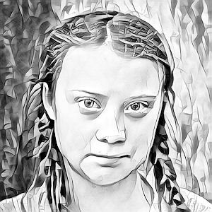 Greta Thunberg photo